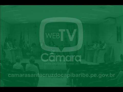 Assista a reunião desta quinta-feira (30) na Câmara de Santa Cruz do Capibaribe