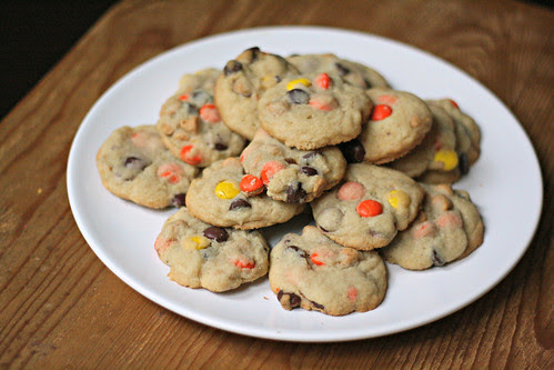 Ultimate Reeses Pieces Cookies