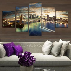 panel  york city landscape canvas home decor wall art