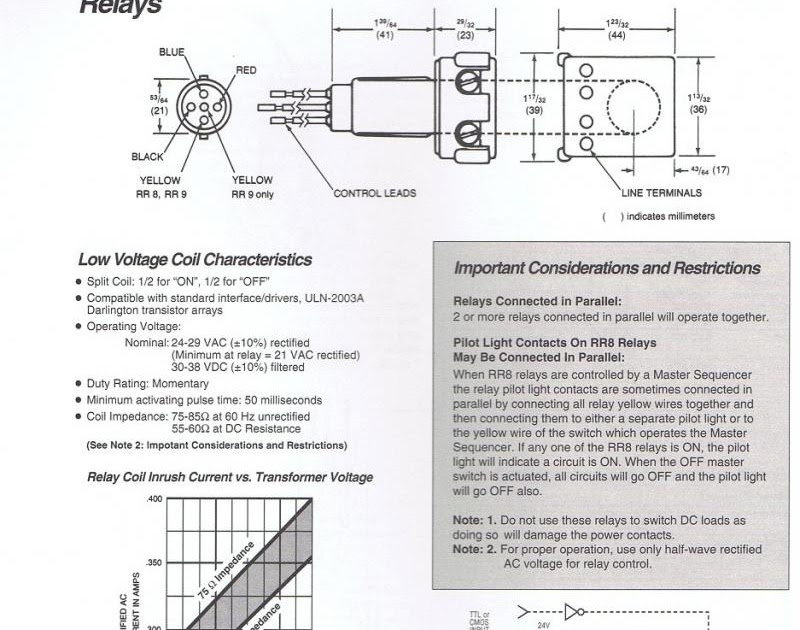 50 New Ge Rr8 Relay Wiring Diagram