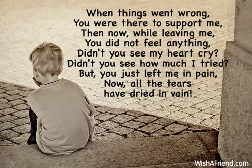 Sad Love Poems