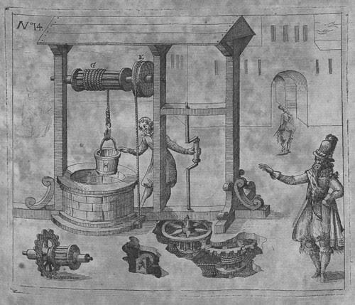 Heinrich Zeising - Theatri machinarum Erster - 1613 s