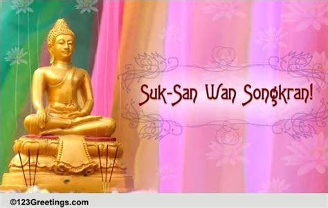 Heartfelt Songkran Wishes  Free Songkran (Thailand