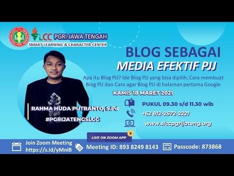 Blog sebagai Media PJJ