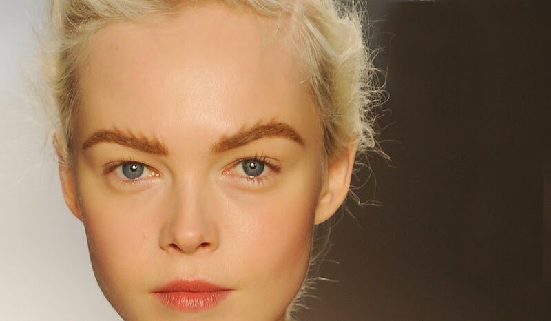 Brushed Up-Strong Brows Trend