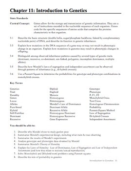 34 Chapter 112 Dna And Genes Worksheet Answers - Worksheet ...