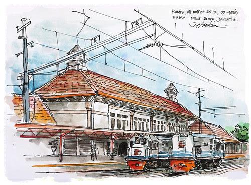 Stasiun Pasar Senen by mas_jati