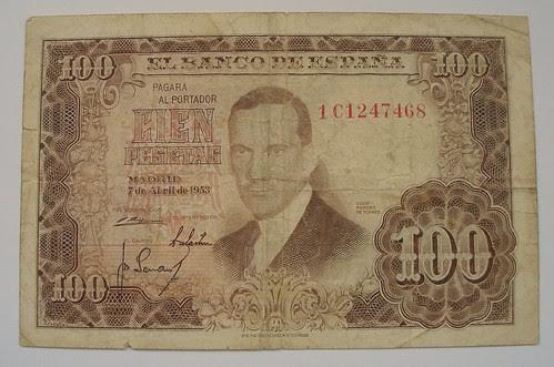 Cien Pesetas (1953)