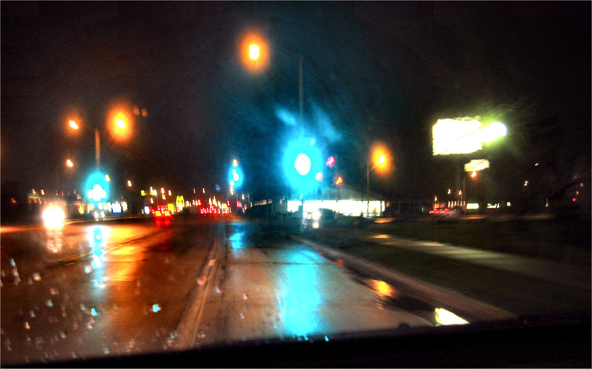 Streets of West Allis at Night - by Mike Fisk -- soul-amp.com