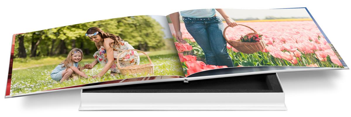 """Z kuponem rabatowym """"Na dobry początek"""" odkryjesz różne formaty i możliwości doskonalenia Twojej fotoksiążki."""