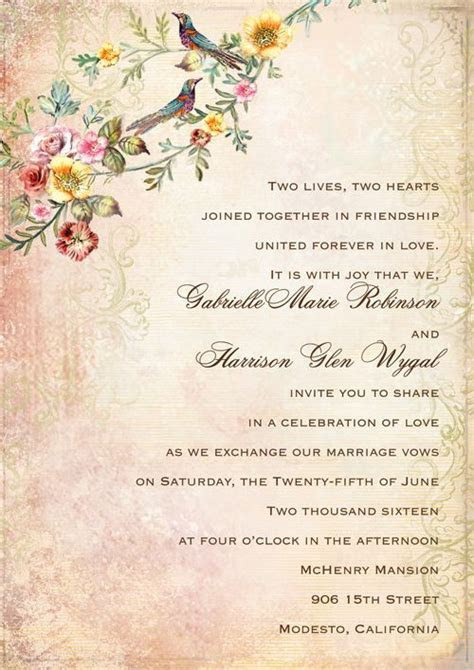 A Guide to Wedding Invitation Wording Etiquette   Wedding