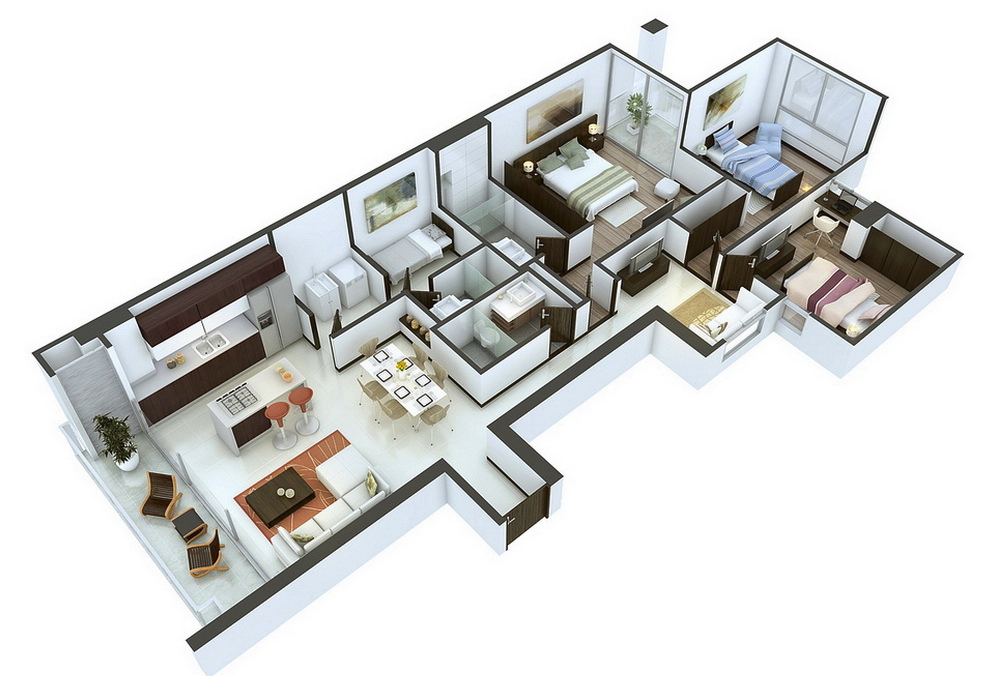 16-layout-3-bedrooms