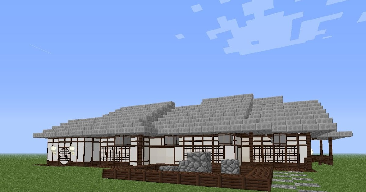 Inspiration 30 Minecraftjapanese House