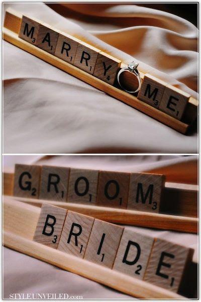 Scrabble Tiles - uma divertida alternativa para sinais