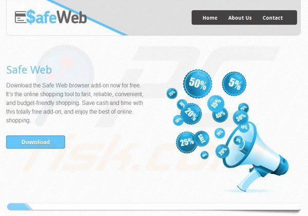virus aplicación Safeweb