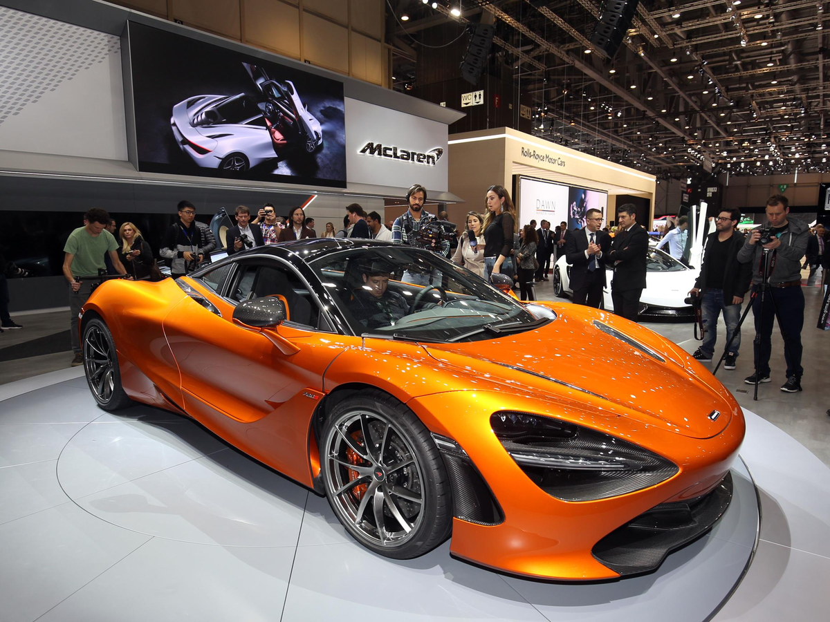 McLaren unveiled its first-ever second generation supercar called the 720S.
