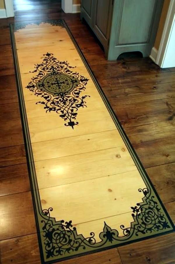 Creative Wood Floor Paint Decoration Art Works (23)