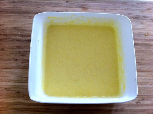 Juiced and Zest Whisked into Custard