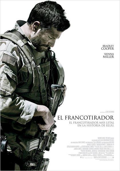 El francotirador : Cartel