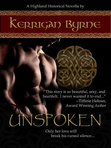 Unspoken (Heroes of the Highlands #1) (The MacLauchlans) by Kerrigan Byrne