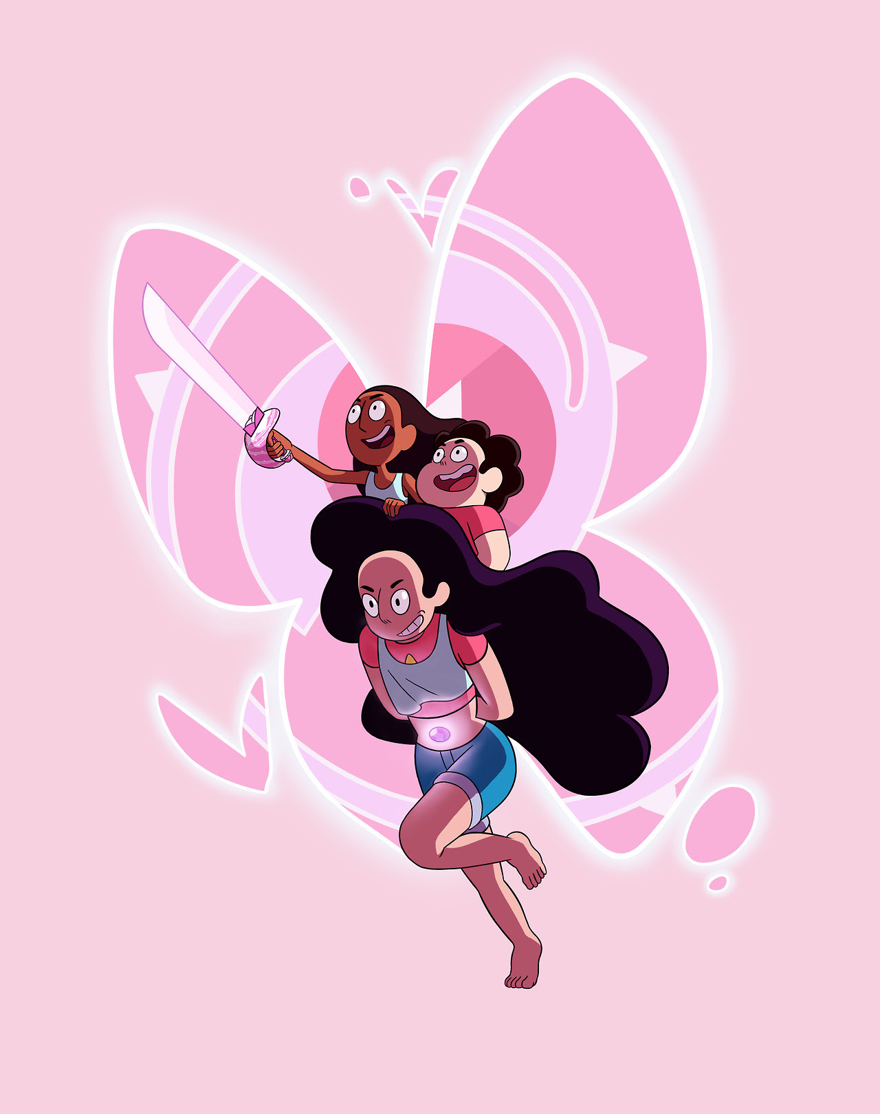 Do it For UsMy final submission for the Steven Universe Fan Forge I thought Stevonnie would be a crowd pleaser Here's the link to the contest page, so if you wanna see this made into official merch...