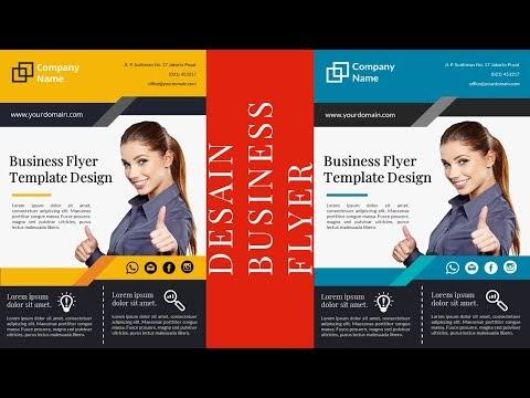 Download Template Desain Business Flyer