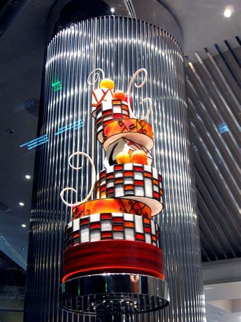Crazy Cake on Display at Jean Philippe Patisserie in the