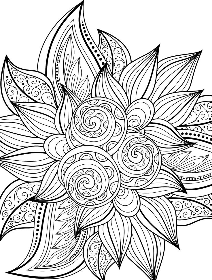 174 Best Free Printable Coloring Pages Images