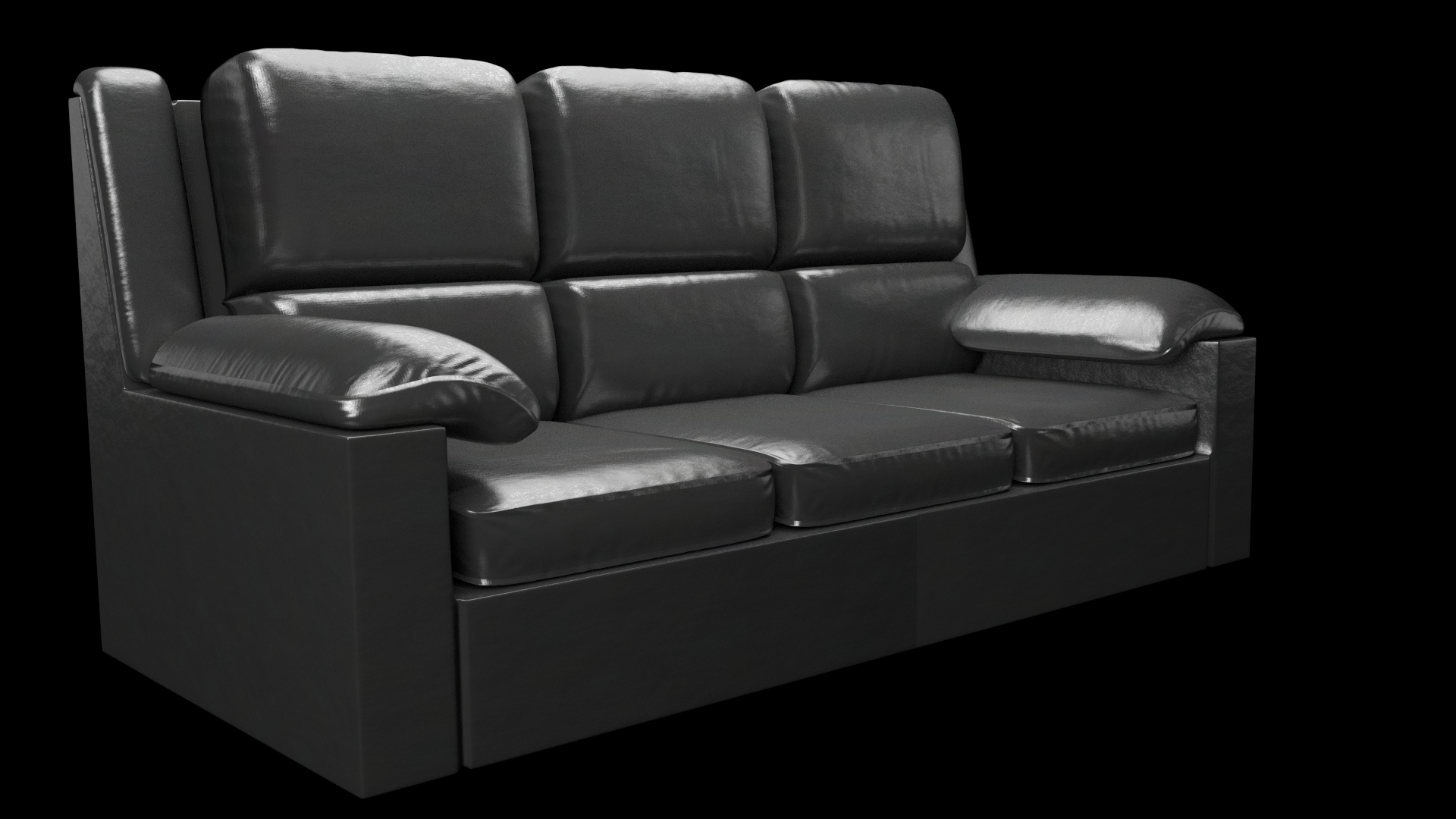 A Couch I Spent Way Too Much Time On Blender