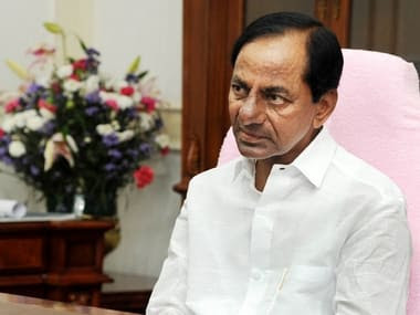 File image of Telangana chief minister K Chandrashekar Rao. News18