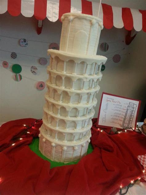 A Night In Italy, Leaning Tower Of Pisa   CakeCentral.com