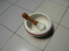 Chinese medicine pounder