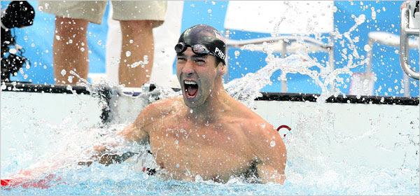 Michael Phelps y el TDAH