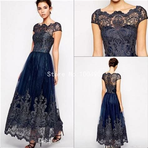 Popular Navy Blue Mother of The Bride Dresses Buy Cheap