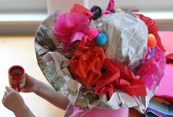 newspaper derby hat for kids