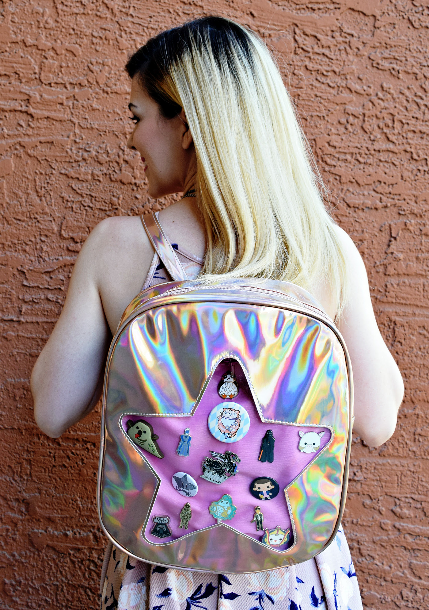 Rose Gold Ita Backpack Review & Decorating | Anakin and His Angel
