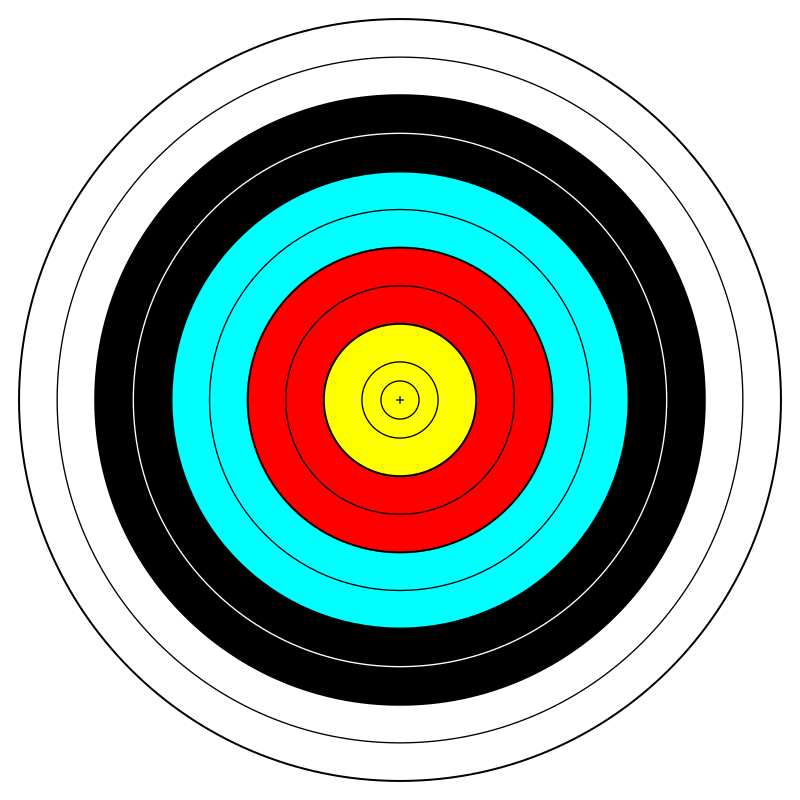 anamix_FITA_Official_Face_archery_target