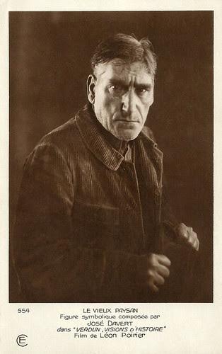 José Davert in Verdun, visions d'histoire