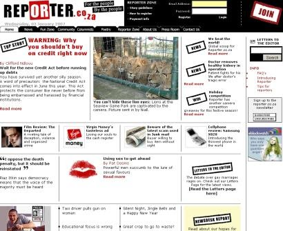 U Journalism Web Design