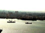 View of the Apapa Port in Lagos