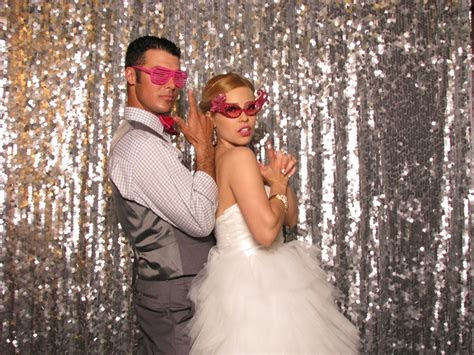 silver sequin photobooth backdrop  shutterbooth