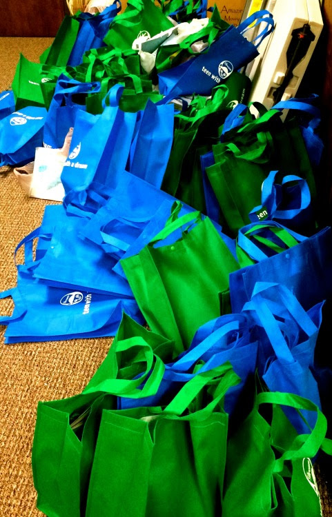 2015 Compassion BagsToday, a portion of Trinity Lutheran's #2015CompassionBags were dropped off at one of our centers. It is our hope that these bags will serve as a reason to smile for the patients currently under going treatment.Thank you Trinity Lutheran for your support and jointing the fight against childhood cancer-until there is a cure!