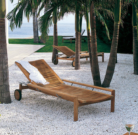 Triconfort Outdoor Furniture - the Equinox solid wood furniture ...