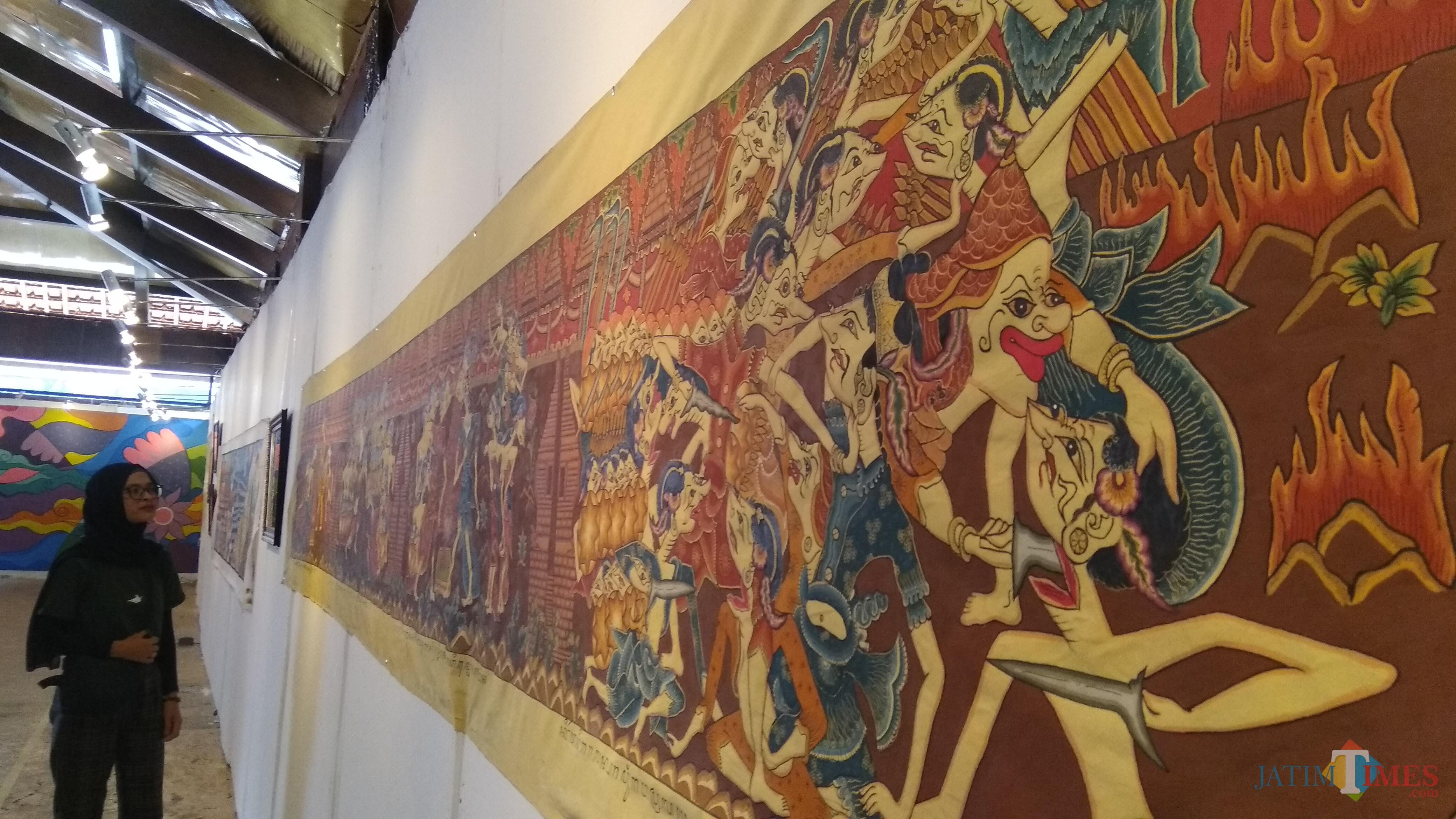 Dari Klasik Hingga Kontemporer Menilik Pameran Visual Budaya Panji Di Malang Malangtimes