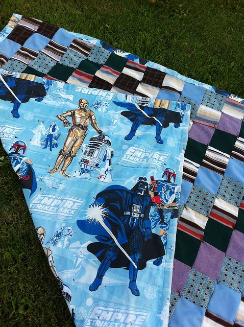 Fortrel + Vader = a quilt for the ages