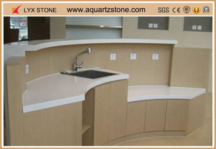 China White quartz bar top silestone countertops dealers ...
