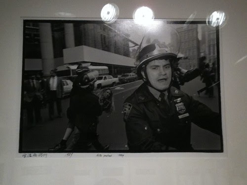 """""""Police protest"""" by Ai Wei Wei"""