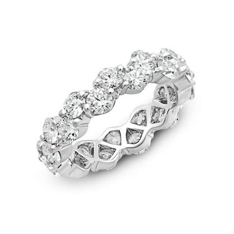 "Oscar Heyman ""Zig Zag"" Diamond Eternity Band   W2867"