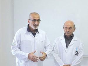 Péricles é diretor em um hospital e atende também em seu consultório (Foto: Bruno dos Santos/Arquivo pessoal)