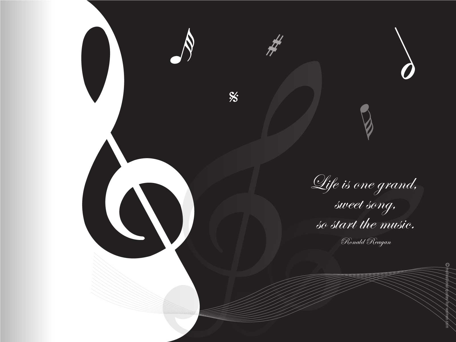 Life Is A Song Love Is The Music Quotespictures Com
